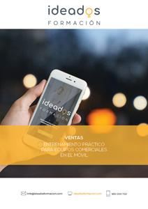 App para un entrenamiento práctico de equipos comerciales en el móvil